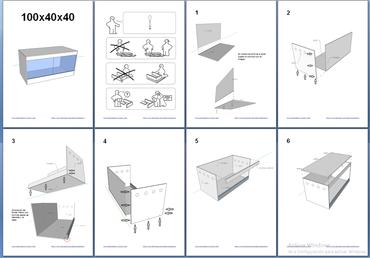 manual montaje terrario pvc